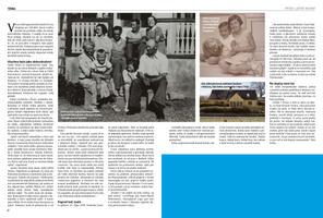 V Lidových novinách vyšel příběh Edity Krausové, rodačky z Prahy, která mi vyprávěla, jaké to bylo odjet ve čtrnácti letech do Dánska.