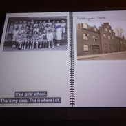 Zde otáčíte stránky a posloucháte příběh dívenky, která za války žila s rodiči v Aarhusu.