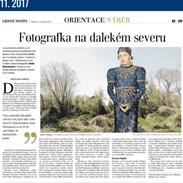 Světoznámá fotografka v Dánsku