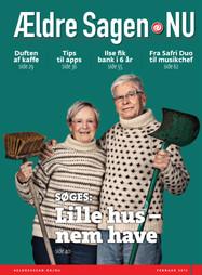 Jedna z titulních stran časopisu, který čtou statisíce seniorů po celém Dánsku.