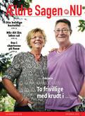 Vizuál seniorského časopisu. Nejsou to vypiplané fotky seniorů, ale reální lidé. Jak se žije seniorům v Dánsku, co všechno dělají? Rozhodně to na vás nebude působit tak depresivně jako zprávy z českých médií o seniorech.