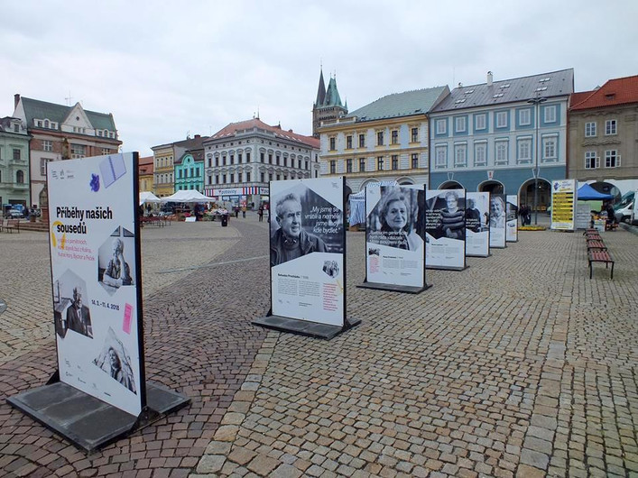 Stories of seniors at main square