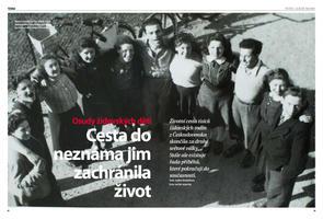 Příběhy českých dětí v Dánsku jsem publikovala mnohokrát v českých médiích. Toto je jeden z prvních článků, který vyšel v Lidových novinách.