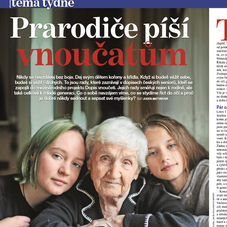 Article about seniors and teens
