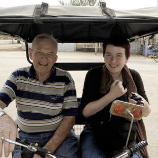 Recording survivors in Israel