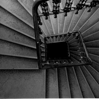 Stairs to Milena Jesenska
