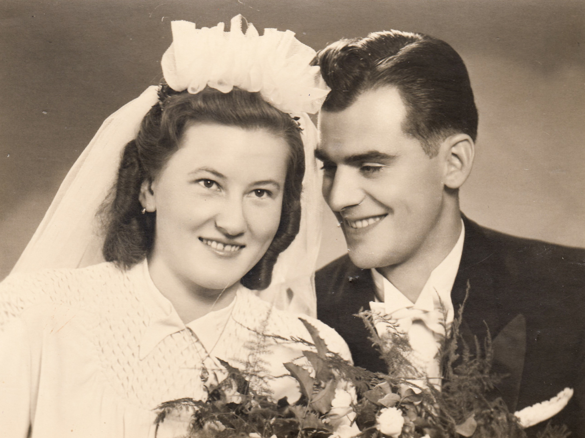 Wedding photo of Jarmila Dolezalova