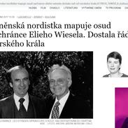 Brněnský Leo Eitinger pomáhal se záchranou desítky židovských dětí do Norska. Překladatelka Miluše Juříčková se věnuje jeho životnímu příběhu