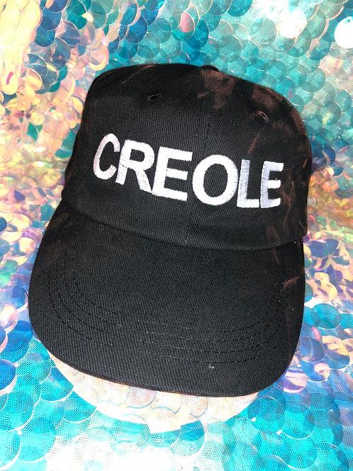 "Black ""Creole"" Hat"
