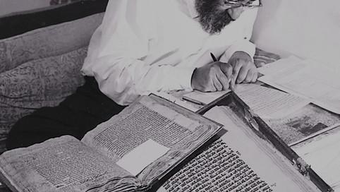 הרב יוסף קאפח תופעה נדירה בעולם הרבני