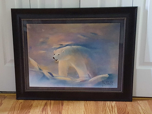 POLAR BEAR (JUST FRAMED)
