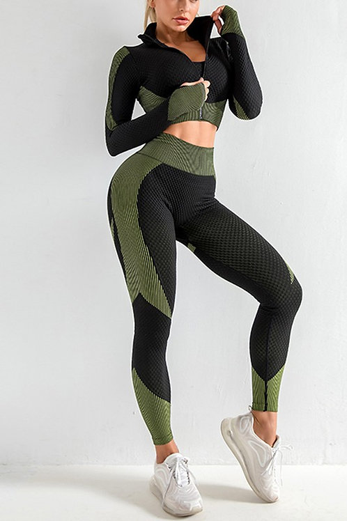 PERFECT FIT SET -OLIVE