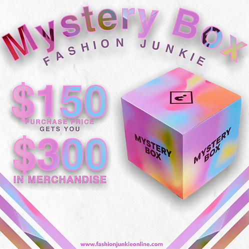 Mystery Box -$150
