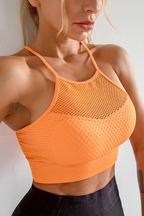 CAMI SPORTS BRA -ORANGE