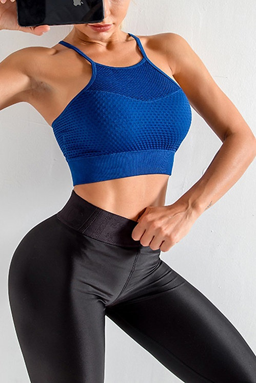 CAMI SPORTS BRA - BLUE
