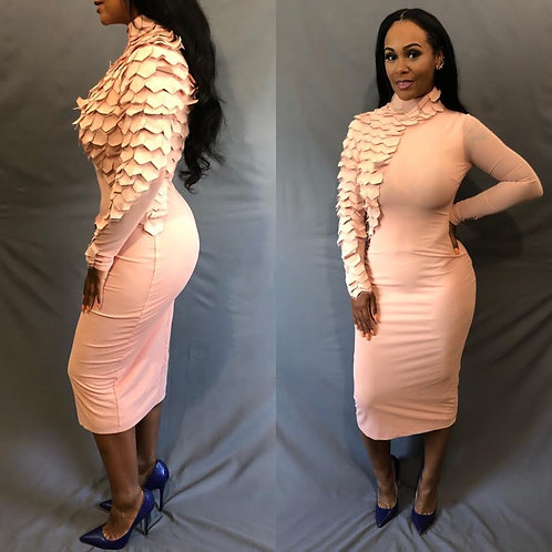 Reptile Bodycon Dress