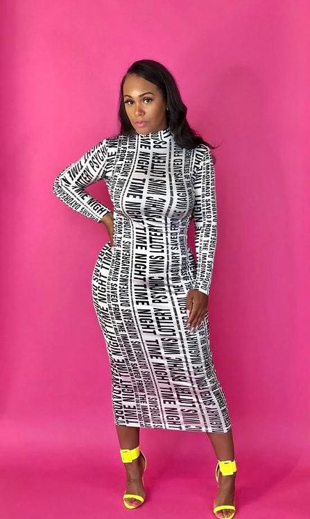 Article Midi Dress