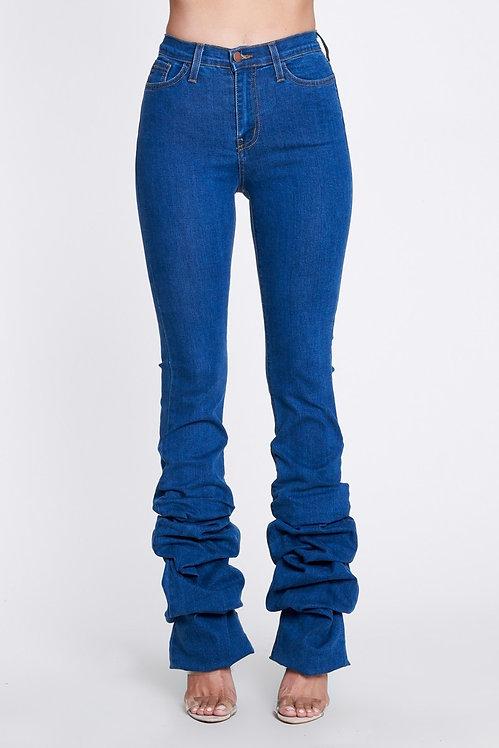 Denim Scrunch Jeans