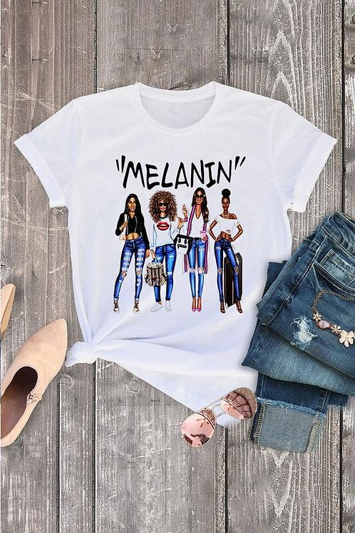 """MELANIN"" TEE"