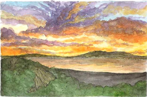 Watercolour Skies