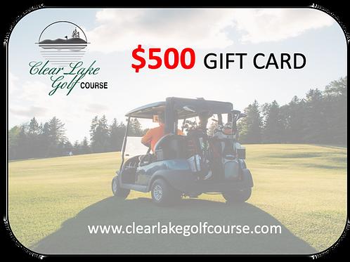 Proshop $500 Gift Card