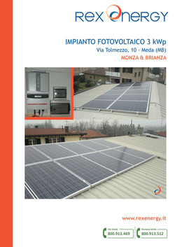Impianto fotovoltaico