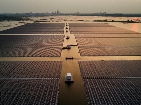 Fotovoltaico galleggiante: in Olanda l'impianto più grande d'Europa
