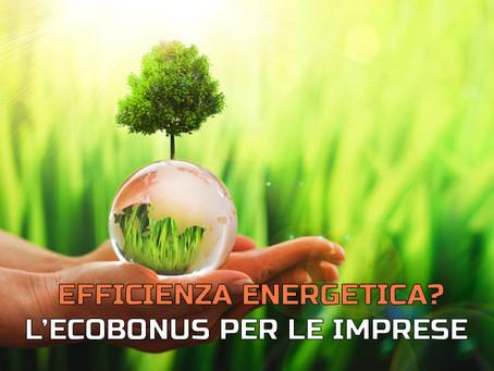Investire nell'efficienza energetica? L'Ecobonus ora è anche per le imprese