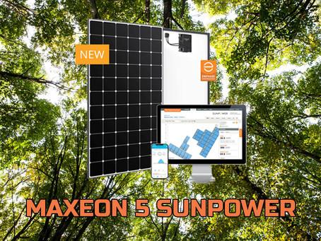 Maxeon 5: L'evoluzione della tecnologia firmata SunPower