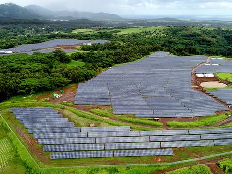 Hawaii, fotovoltaico ed idroelettrico per l'indipendenza energetica nel 2045