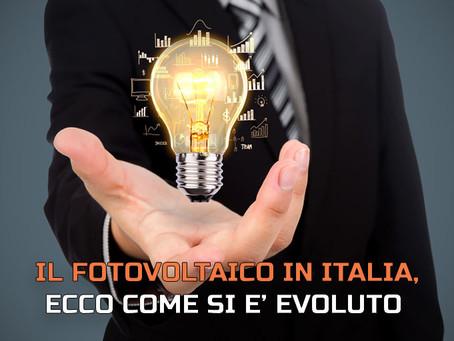 Il fotovoltaico in Italia, ecco come si è evoluto negli anni