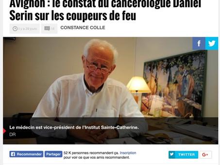 Le cancérologue Daniel Serin brise la loi du silence.