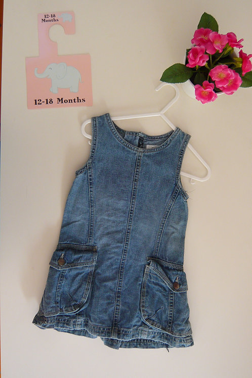 My First Jeans Dress
