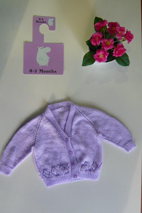 Super Purple Knitted Winter