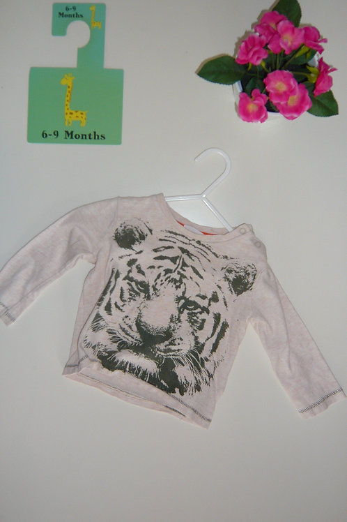 I Am A Tiger Long Sleeve Blouse