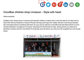 Cocobee - Style with heart by Kids have fun in Cyprus