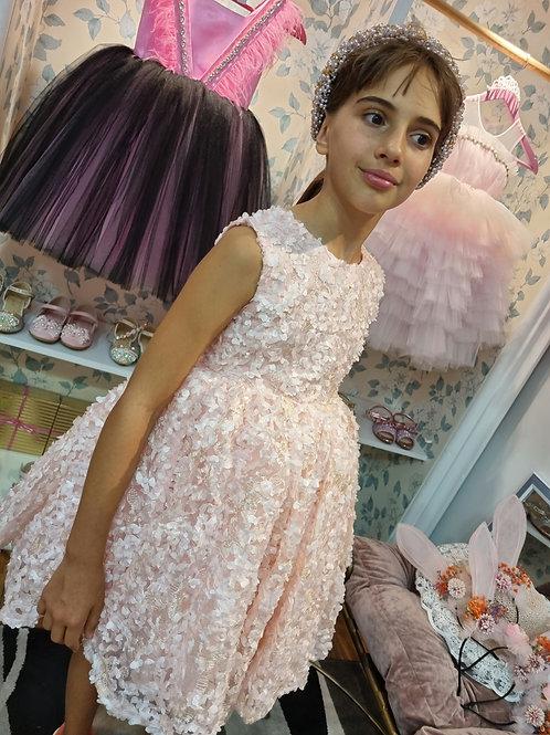 Flower Pink Luiza Dress