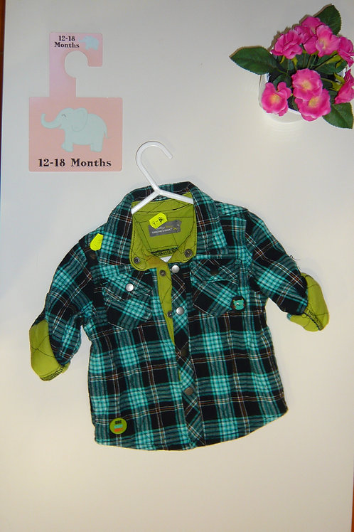 Green Warm Shirt By Orchestra
