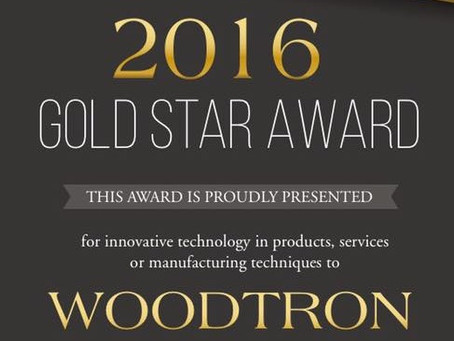 Woodtron wins Gold Star Award