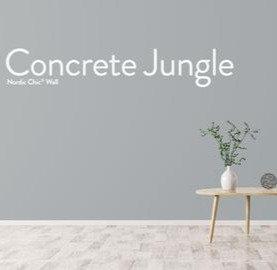 Concrete Jungle, leirebasert veggmaling
