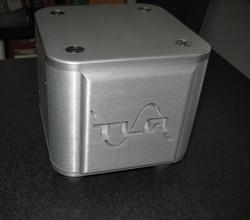 Aluminum machined box
