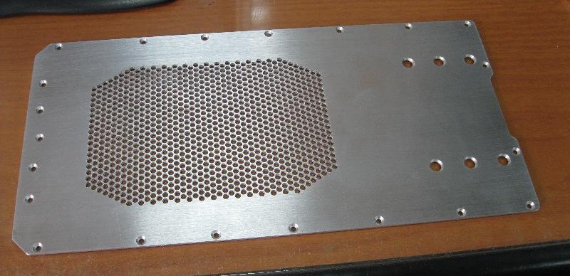 Aluminum Cover Plate
