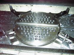 Inox milling plate