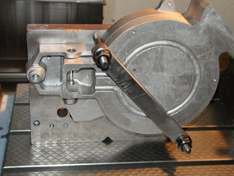 Cast aluminum milling