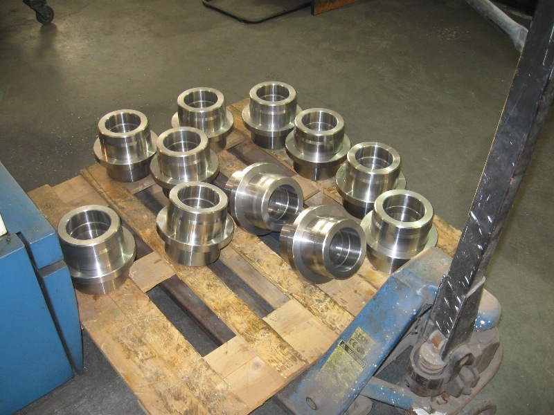 Steel bearing nest
