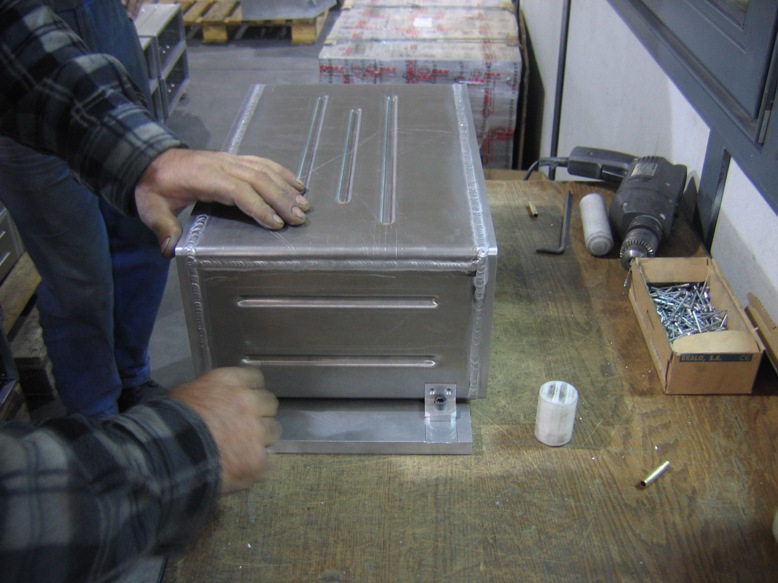 Aluminum Box Assembly