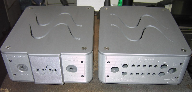 ALUMINUM AMPLIFIER BOX 2
