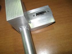 Aluminum welded part