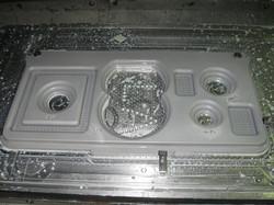 Aluminum plate milling
