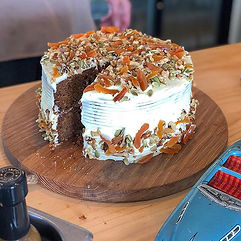 Our popular carrot cake is back!!! 🥕 🍰